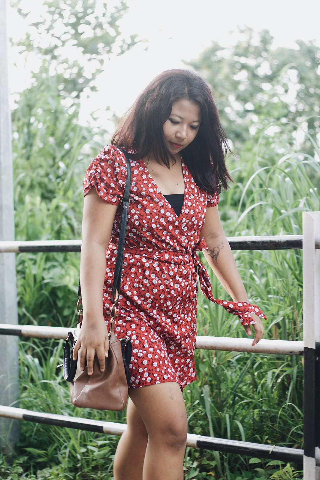 Selestyme by Chayanika Rabha Fashion blogger wearing Floral print dress via Flipkart Summer Fashion