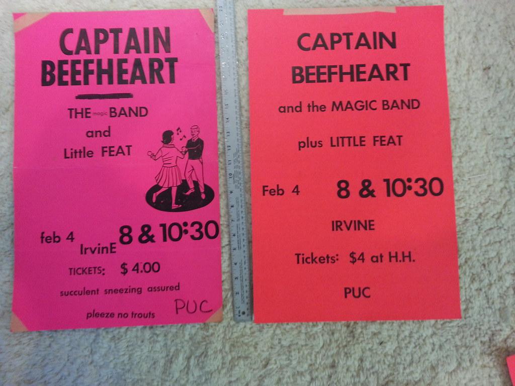 Captain Beefheart - Little Feat - 2/4/72
