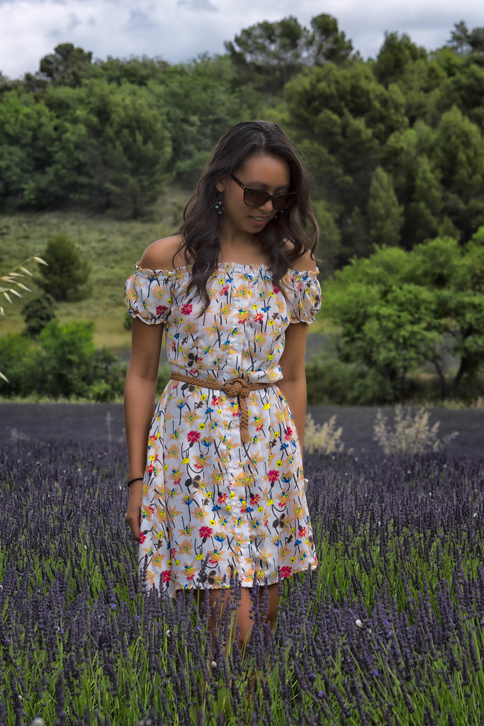Flower Smmer Dress and Lavender Standing.jpg