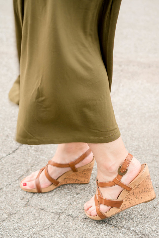 green Old Navy maxi dress + brown knot belt Target + wicker clutch + summer date night outfit   Style On Target