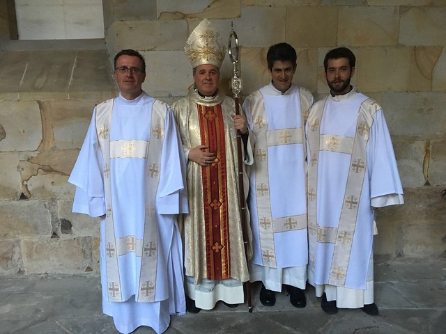 Ordenaciones diaconales - junio 2016