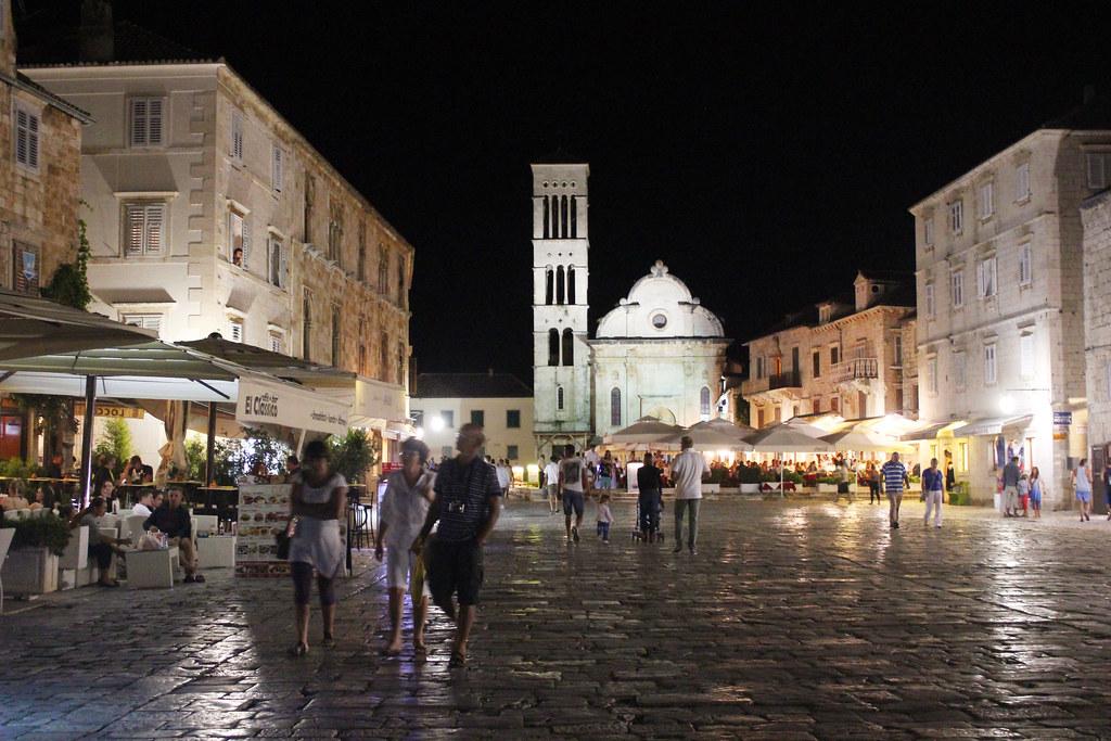 Hvar town Croatia
