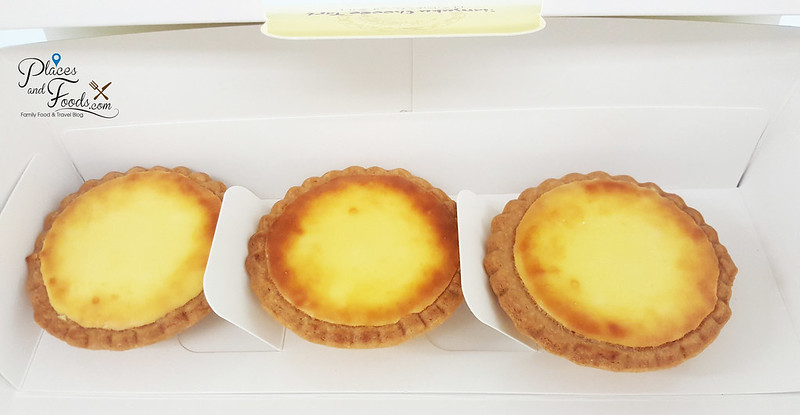 lavender hanjuku melting cheese tart box of three