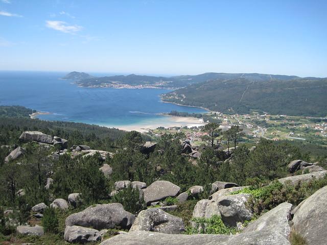 Vistas sobre Abelleira en Esteiro