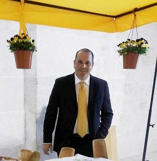 Il segretario della Coldiretti Turi, Domingo Colapietro