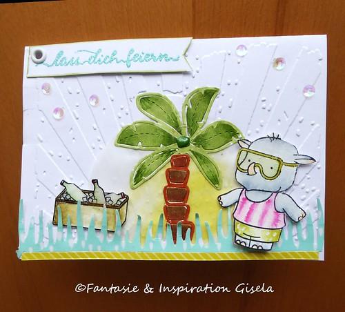 Sommer-Geburtstagskarte