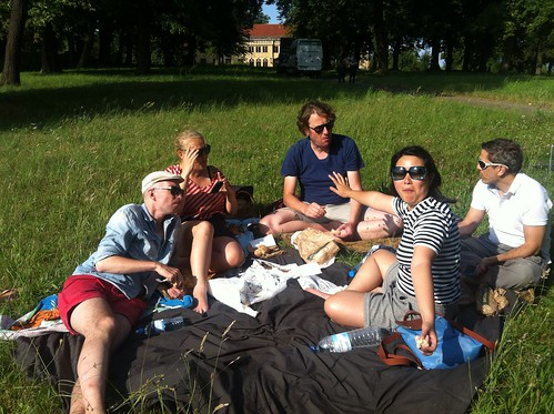 Aal + forelle frisch aus dem Räucherofen = we ate well by the lakeside :)