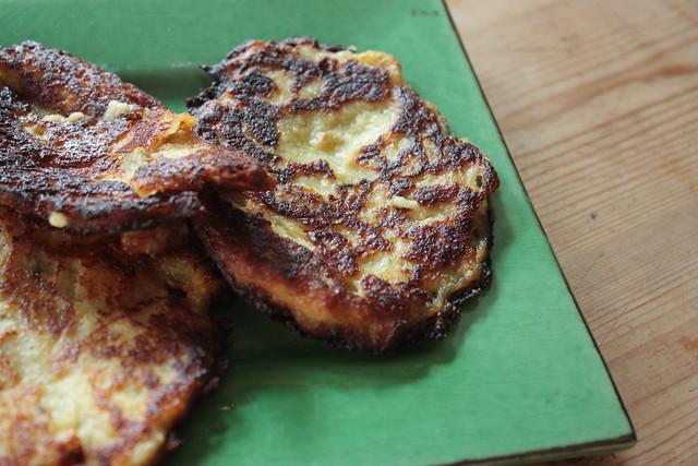 Pancakes de chou-fleur