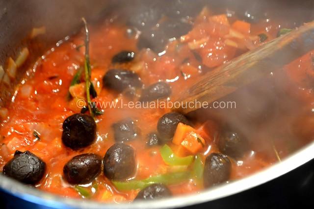 Seiches à la Plancha Sauce Piquante aux Olives Noires © Ana Luthi Tous droits réservés 14