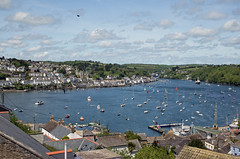 Fowey and Polruan, Cornwall