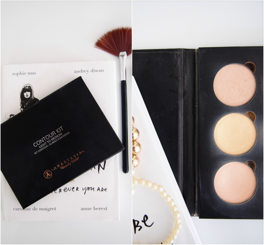 Anastasia Beverly Hills Contour Kit Highlighters Vanilla, Banana, Sand
