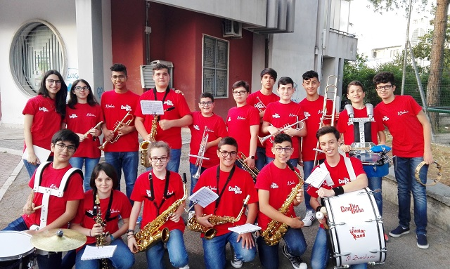 Noicattaro. Junior Band intero
