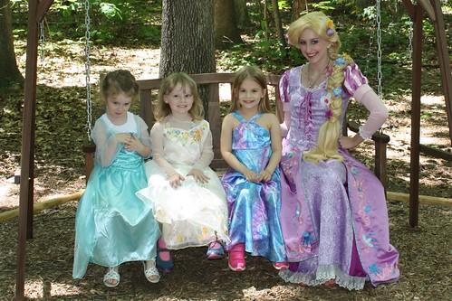 Kayla, Sophia, Lucy & Rapunzel