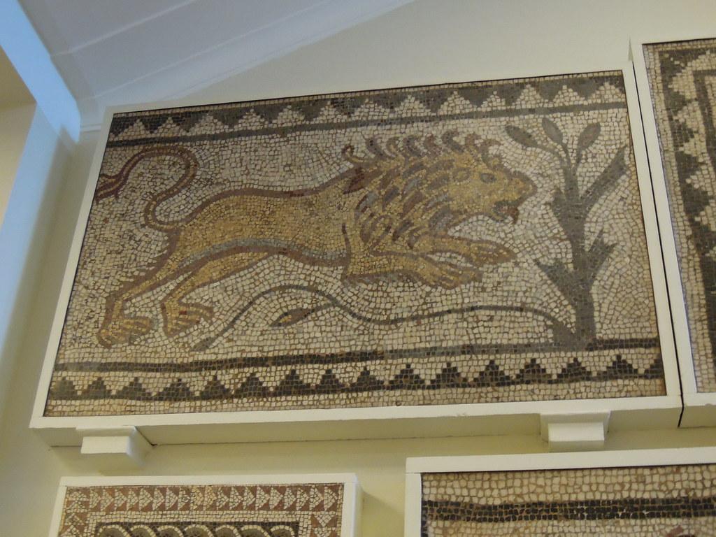 British Museum Mosaics Roman Mosaic British