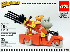 Hannah Hippo's Flak Scooter by D-Town Cracka
