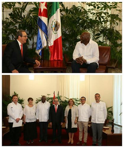 Presenta Enrique Martínez y Martínez sus Cartas Credenciales como embajador de México en la República de Cuba