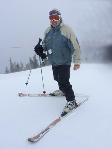 Skiing!