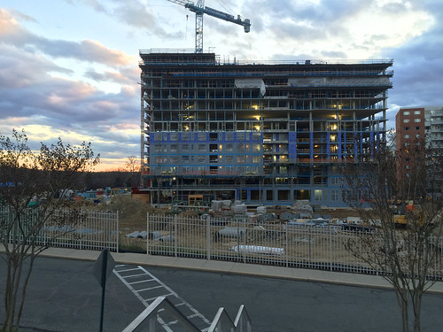The Pearl (New Apartments at The Blairs) Under Construction, March 2016