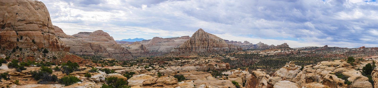 Panorama from along the Rim Overlook Trail