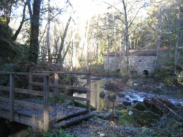 Molino en el Camiño Natural do Río Barbantiño