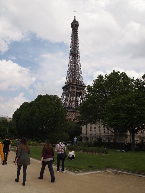P5271740 エッフェル塔(La tour Eiffel) paris france パリ