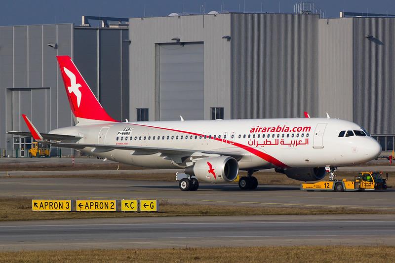 Air Arabia - A320 - F-WWBS (1)
