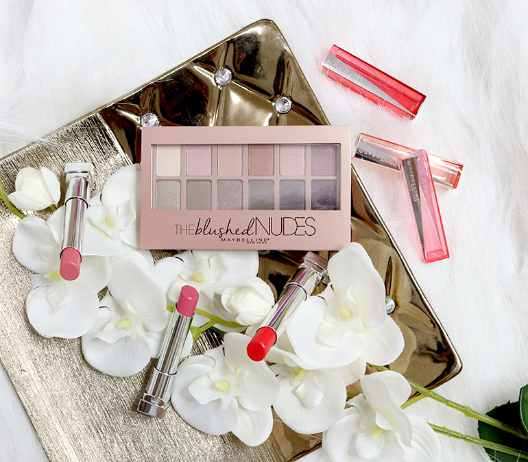 1 Maybelline Blushed Nudes Swatches Review - Gen-zel.com(c)