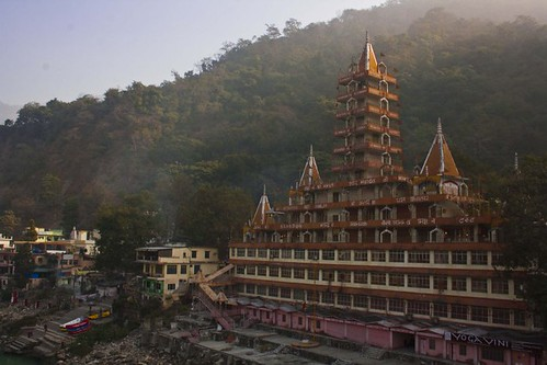 Kailash Niketan Temple in Rishikesh, Uttarakhand, India