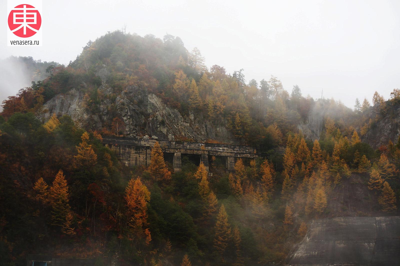 Плотина Куробэ (黒部ダム), Японские Альпы Татэяма Куробэ, Татэяма Куробэ, Tateyama Kurobe Alpine Route, 立山黒部, 立山黒部アルペンルート