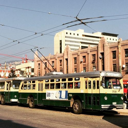 Trolebuses #Valparaíso #Chile