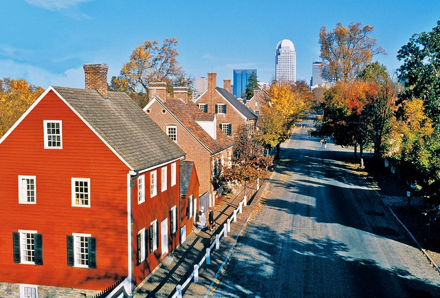 Old Salem in the Fall