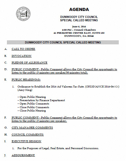http://www.jkheneghan.com/city/meetings/2016/Jun/2016-06-06%20City%20Council%20Special%20Called%20Meeting%206pm.pdf