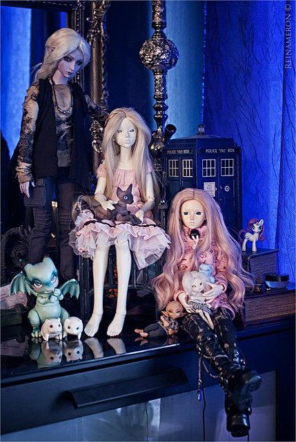 my msd and tiny dolls