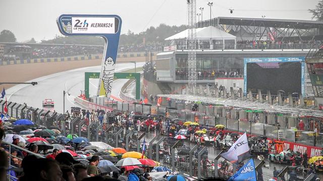 Pre-race deluge