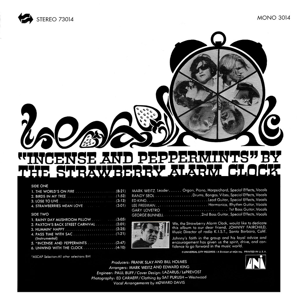The Strawberry Alarm Clock - Incense And Peppermints