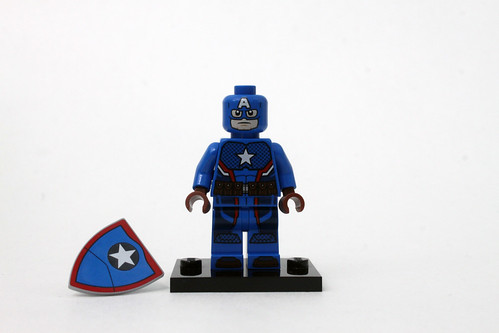 LEGO Marvel Super Heroes SDCC 2016 Steve Rogers Captain America