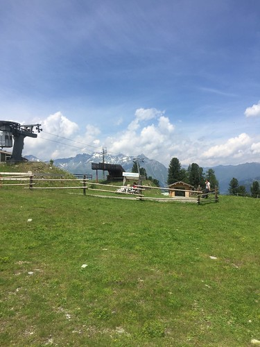 Gondola Station at the top