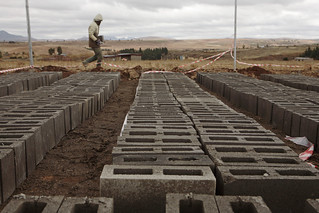 Lesotho - Metolong Dam Toilets&Brick Making - John Hogg - 090625 (4) | by World Bank Photo Collection