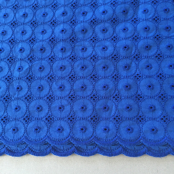 royal blue eyelet