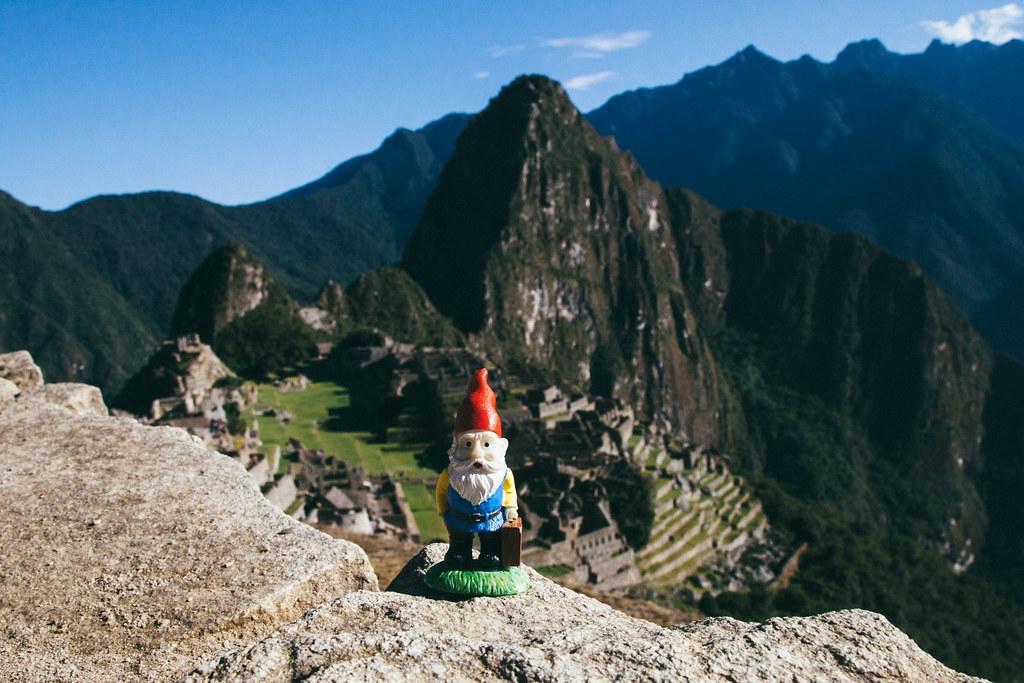 Cedric at Machu Picchu
