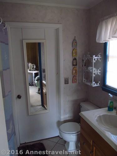 Bathroom at Blue Heaven 108 Raleigh Street, Holden Beach, North Carolina