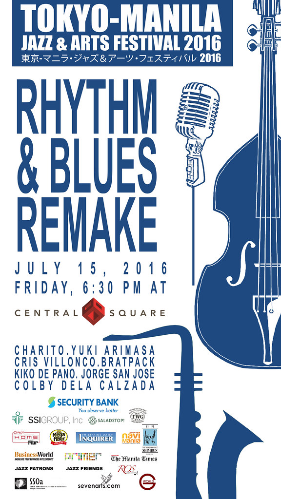 Poster- Rhythm and Blues Remake at Central Square