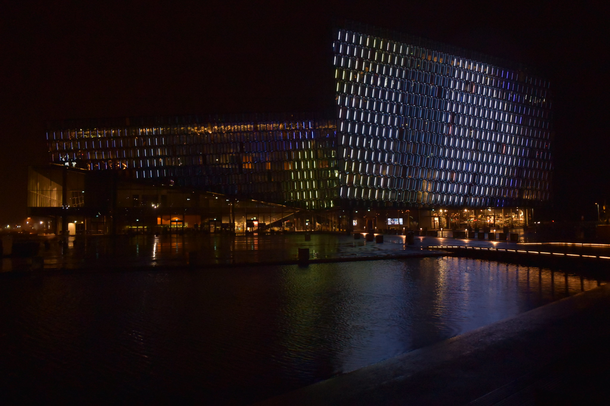 Harpa Concert Hall and Conference Centre, Iceland