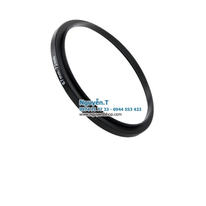 Step up ring 67-72mm