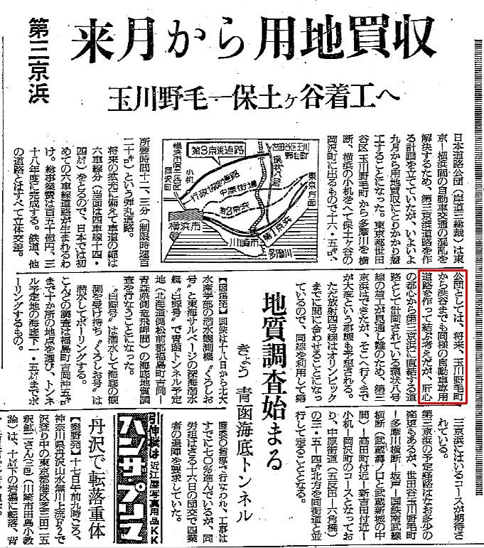 19600818読売第三京浜