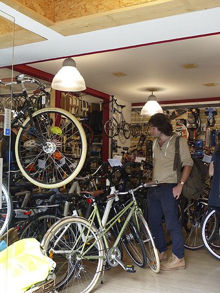 paul et les vélos