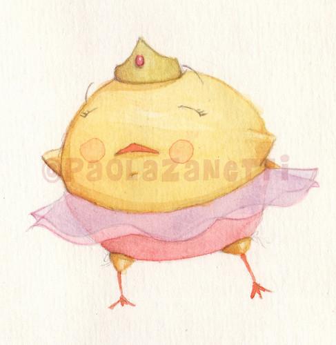 Pulcina Ballerina - Sketch1