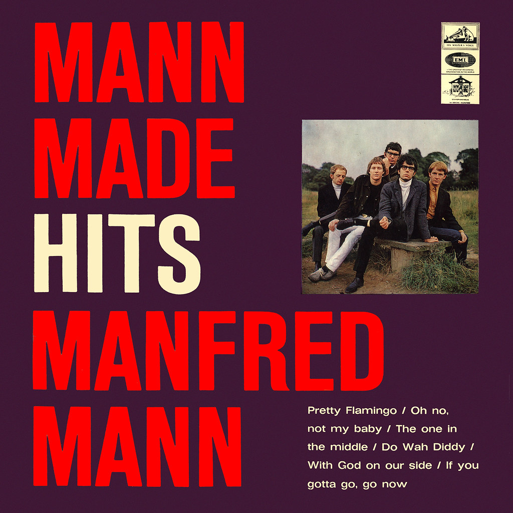 Manfred Mann ‎- Mann Made Hits