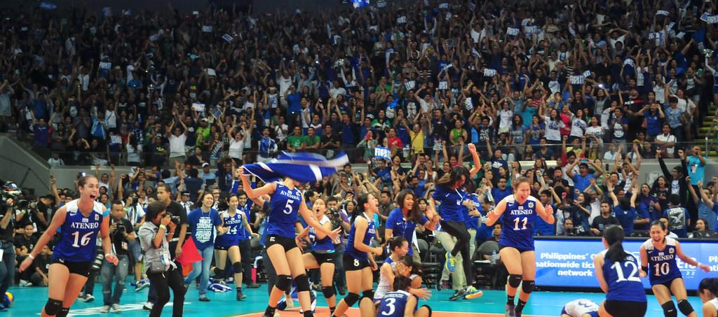 Ateneo volleyball champions- 55