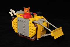 Fabuland Multi-purpose Dozer. by Lego Junkie.